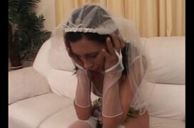 Noiva safada fazendo putaria
