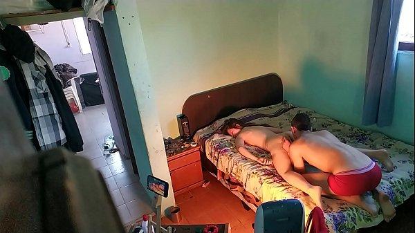 Xxx pegando a namorada que estava dormindo pelada e comendo
