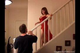Gorda dando a buceta pro marido