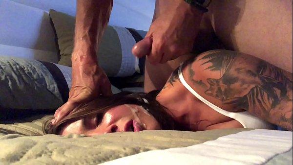 Tatuada fazendo sexo