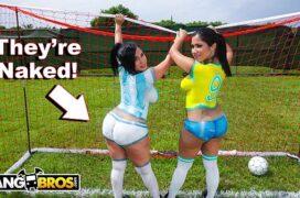 Video porno novo de garotas jogadoras de futebol transando
