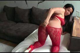 Enrabando a tia no sexo anal