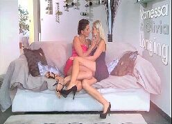 Video de mulheres peladas lésbicas